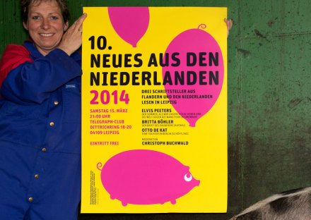 Stroomberg - Poster Neues Aus Den Niederlanden 2014, Dutch Foundation for Literature